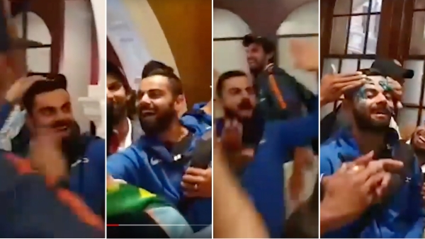 Virat Kohli leads the celebrations as Team India win a Test series in Australia.