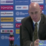 Stephen Constantine gets emotional while announcing that he's stepping down as Indian football coach.