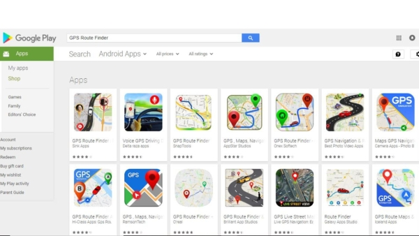 A researcher has found many fake GPS apps on the Google Play Store.