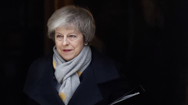 'Humiliated': British Press Says May 'Crushed' by Defeat