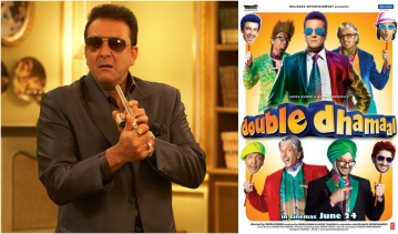 Sanjay Dutt in <i>Double Dhamaal</i>.