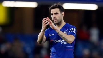 Midfielder Cesc Fabregas has signed with Monaco from Chelsea until June 2022.