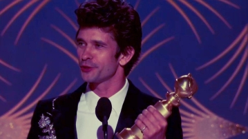 Actor Ben Whishaw won the Golden Globe Award for his role in A Very English Scandal.