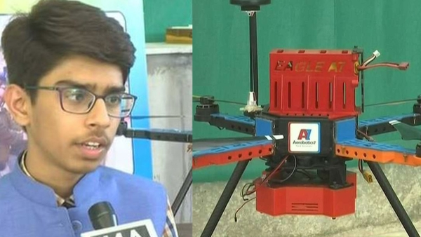 Ahmedabad teen designs a drone to detect and destroy landmines without any risk to human lives.