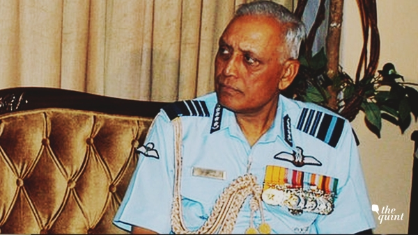 Former IAF chief SP Tyagi.