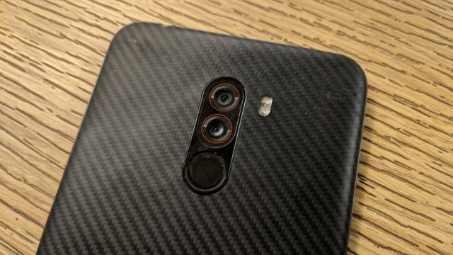 Dual rear cameras on the Poco F1 are decent but nothing great to write about.