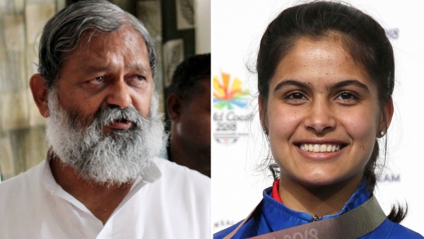 "Responding to Manu Bhaker's jibe, Minister Anil Vij said she needed to be ""disciplined"" first."