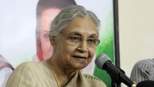Newly-appointed state Congress president of Delhi, Sheila Dikshit.