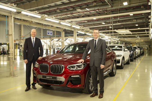 BMW Launches X4 in India to Compete With Mercedes GLC Coupe