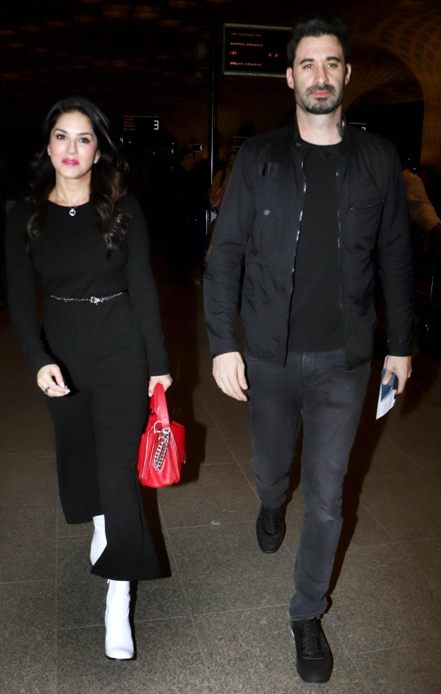 Sunny Leone and Daniel Weber are back in town.
