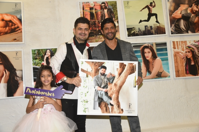 Farhan with Dabboo Ratnani.