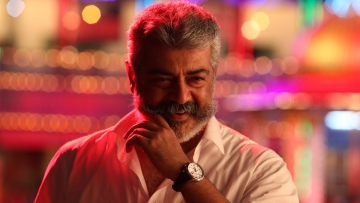 Ajith plays the moustachioed lead in <i>Viswasam</i>.