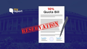 The 10 percent quota Bill is the first step towards income-based reservation.