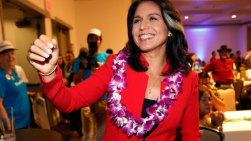 Democratic Representative Tulsi Gabbard of Hawaii will be running for US president in 2020.