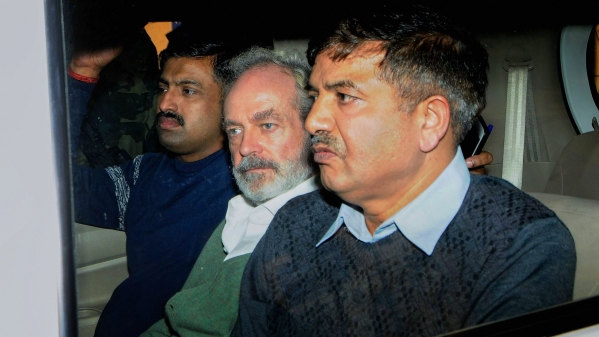 Christian Michel, accused in the AgustaWestland scam.