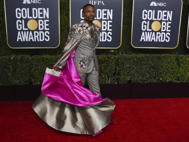 Billy Porter's magnificent ensemble by Randi Rahm took six months to make.