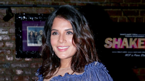 Richa Chadha at the launch of the <i>Shakeela</i> calendar.