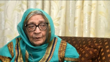 The 93-year-old writer had won the Sahitya Akademi Award in 1980 for her novel <i>Zindaginama</i>.
