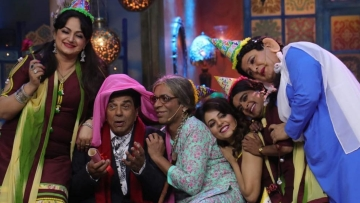 Sunil Grover made his return to television with <i>Kanpur Wale Khuranas</i>.