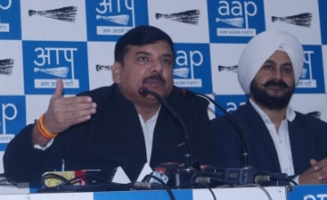 AAP leader Sanjay Singh. (Photo: IANS)