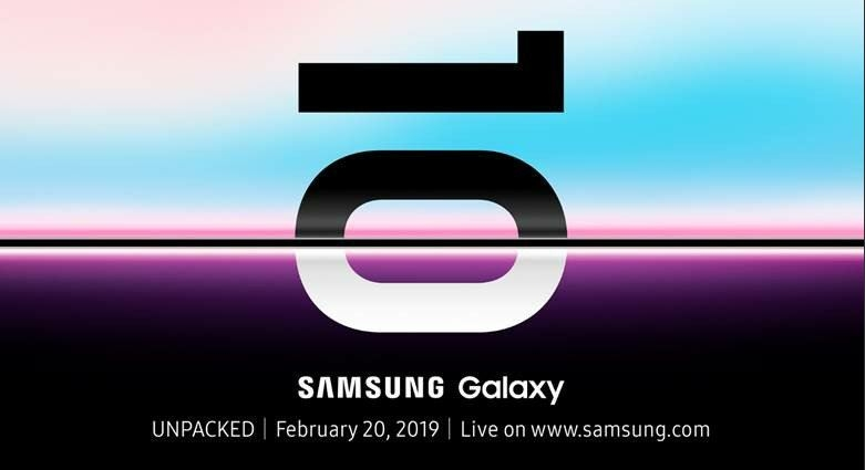 'Unpacked': Samsung to Unveil Folding Phone Along With Galaxy S10