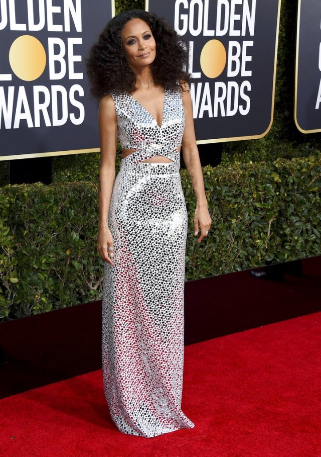 Thandie Newton is stunning as ever.