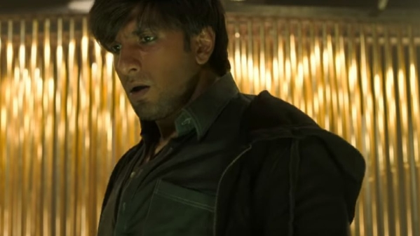 Ranveer Singh in a still from <i>Gully Boy</i>.