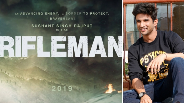 'Rifleman' Teaser: Sushant Singh Rajput Turns Soldier In Next Film
