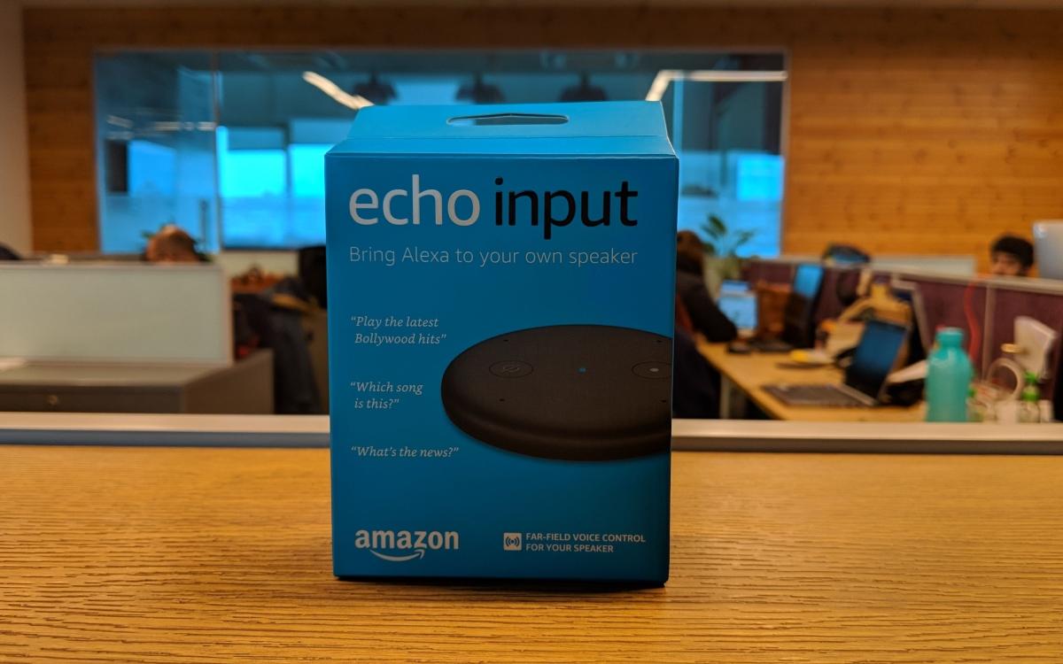 Amazon Echo Input India Launch: Price, Specifications