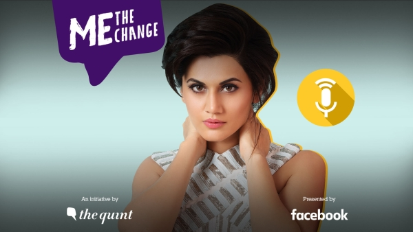 Watch Taapsee Pannu felicitate 10 feisty first-time women voters from across India on 17 January 2019 LIVE only on <b>The Quint</b> and <b>Quint Hindi</b>.