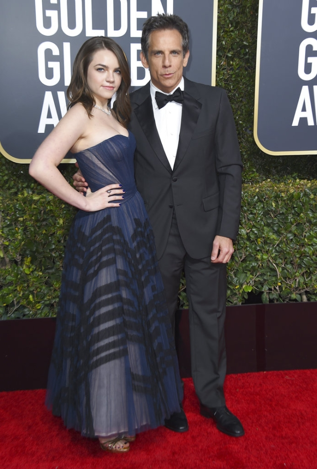 Ella and Ben Stiller grace the red carpet.