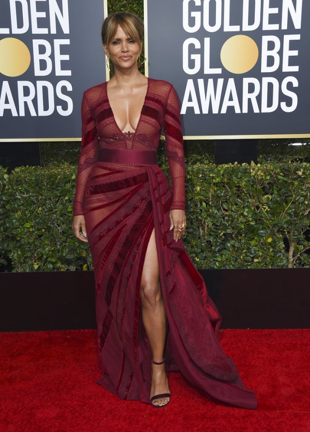 Halle Berry arrives in style.