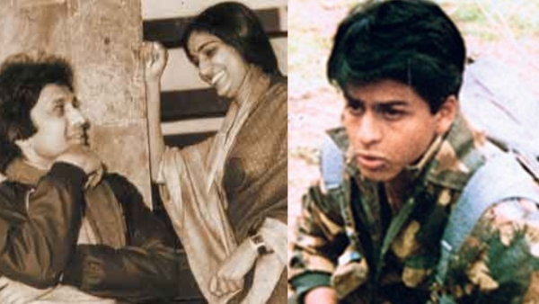 Stills from Doordarshan's <i>Hum Log</i> and <i>Fauji</i>.