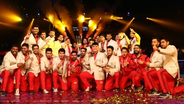 Bengaluru Bulls win their maiden Pro Kabaddi League title.