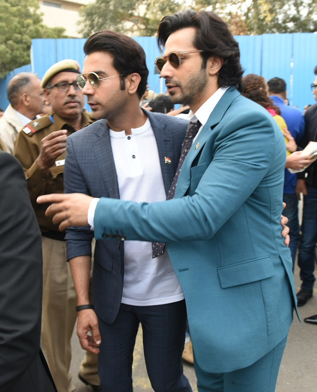 Ayushmann with Varun.