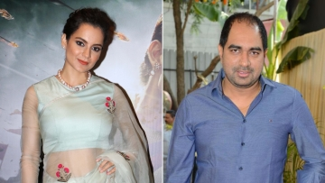 Kangana Ranaut and Krish have locked horns over <i>Manikarnika</i>.
