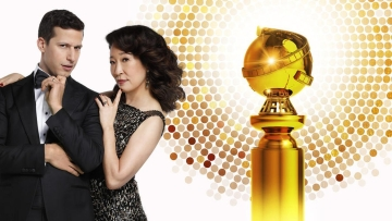Andy Samberg and Sandra Oh are the hosts of the 2019 Golden Globes.