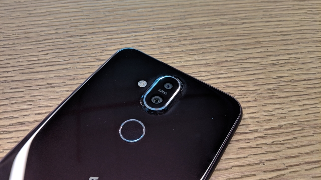Nokia has done an impressive job with the cameras of the Nokia 8.1.