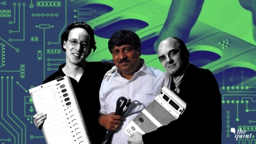 Hari Prasad, along with US professor Alex Halderman and Dutch Rop Gongripp had demonstrated two kinds of tampering on an actual EVM in 2010.