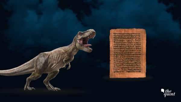 Were dinosaurs mentioned in the Vedas? Nope. But that's exactly what Hindu right-wingers are trying to sell us. Image used for representation.
