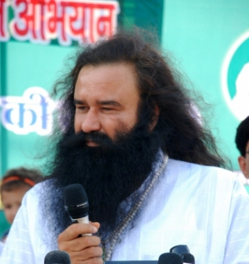 Dera Sacha Sauda chief Gurmeet Ram Rahim Singh. (File Photo: IANS)