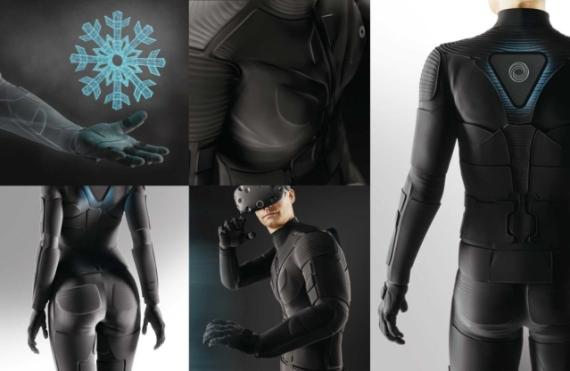 The Teslasuit comes with climate control technology.