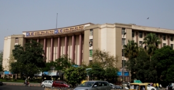 Life Insurance Corporation of India building, New Delhi. (File Photo: IANS)