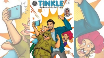 Ranveer Singh on the <i>Tinkle</i> cover.