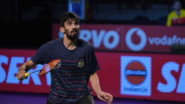 Bengaluru's Kidambi Srikanth won the third and the team's trump match against Chong Wei Feng.