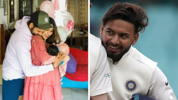 Rohit Sharma tweeted to Rishabh Pant asking if he would like to help his wife Ritika take care of their newborn.