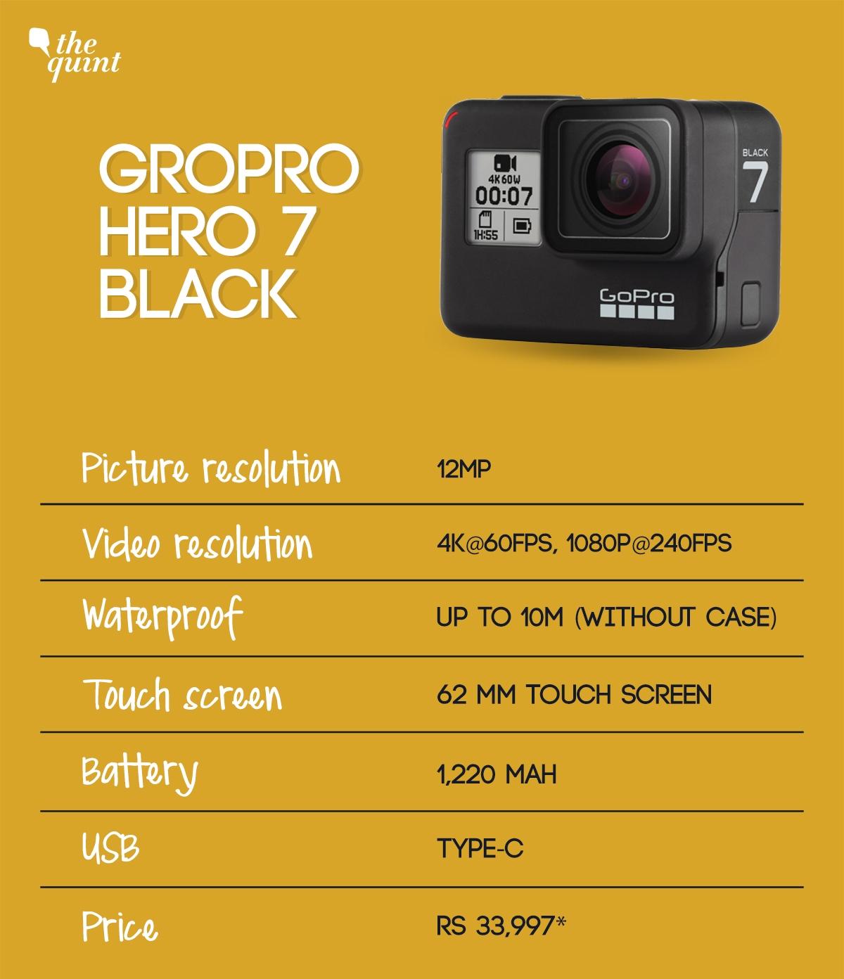 GoPro Hero 7 Black Vs SJ Cam SJ5000x