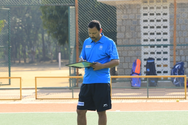 Harendra Singh is once again assigned to the Indian junior men's team, where his career in Hockey India started four years back.