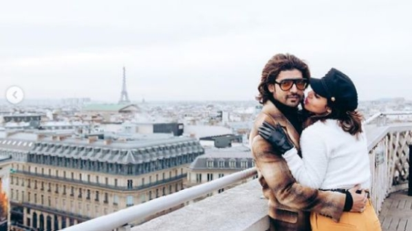 Gurmeet Choudhary and Wife Debina Narrowly Escape Paris Blast