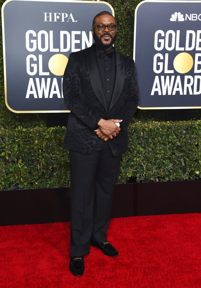 Tyler Perry amps it up in black.